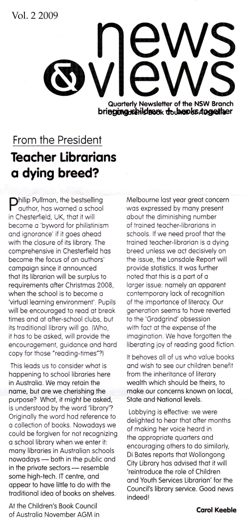 Teacher Librarians: A dying breed?